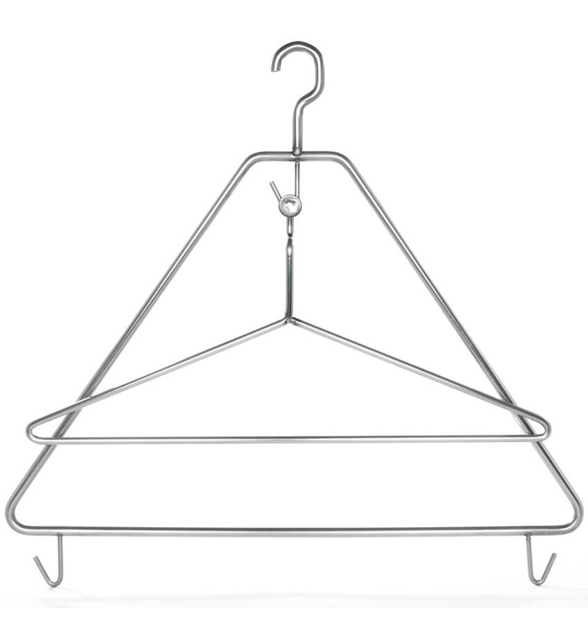 Apron hanger for bakeriesy and butcher's